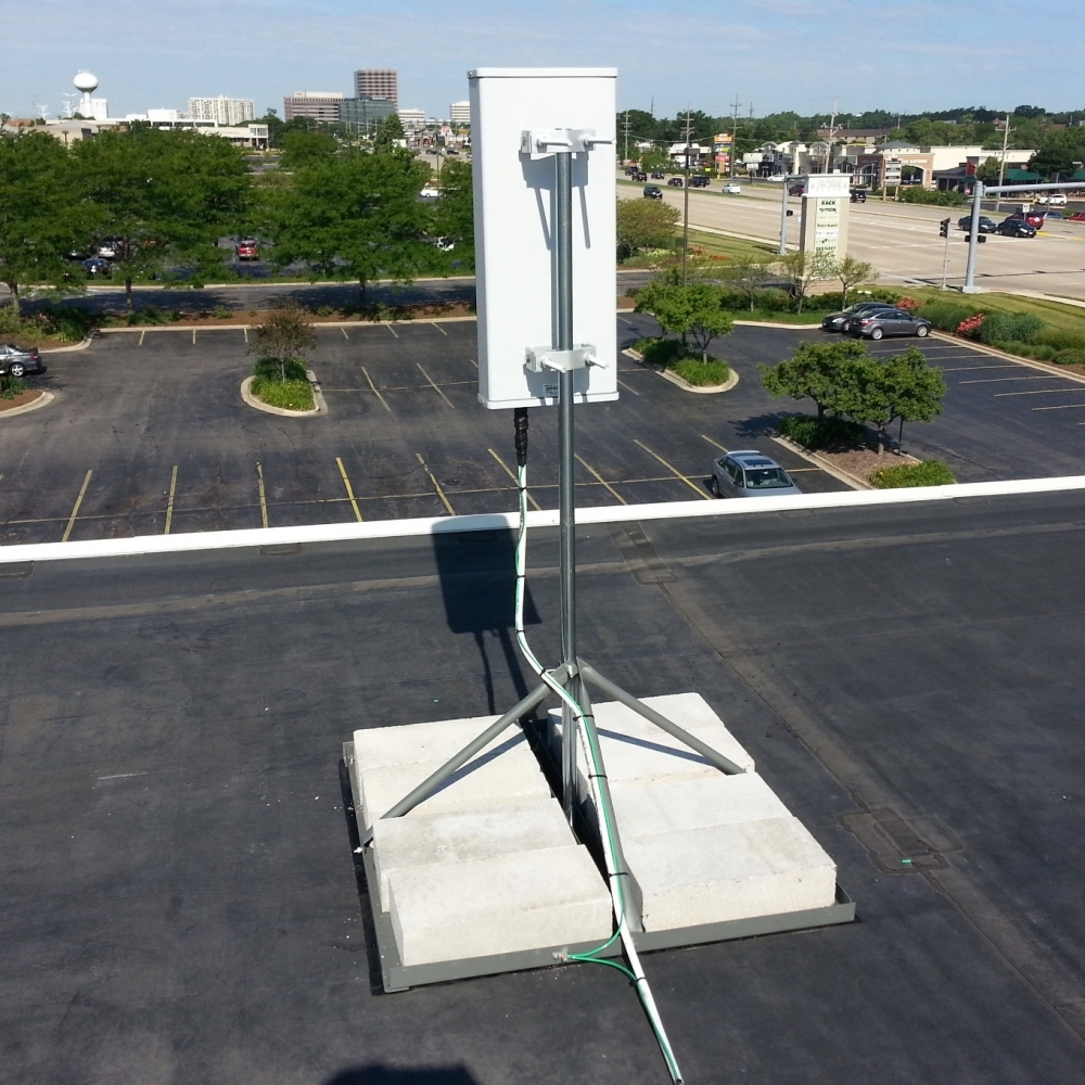 Roof Mount Bracket Cell Signal Boosting Products Jdteck