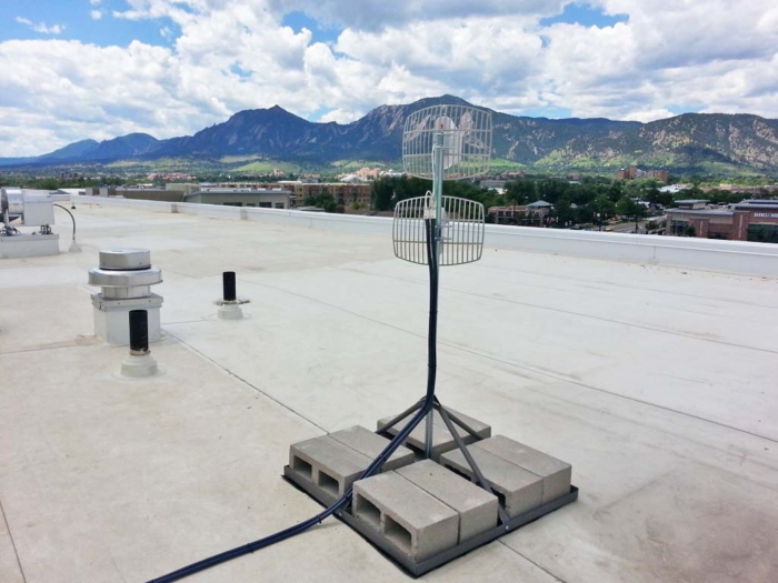 Shown here are a pair of grids with parabolic reflectors at a DAS for the Hyatt Hotel in Colorado. Optimized for 4G, this DAS has worked flawlessly from the day it was deployed back in 2015 and has never required any service calls as is the case with most of our deployments.